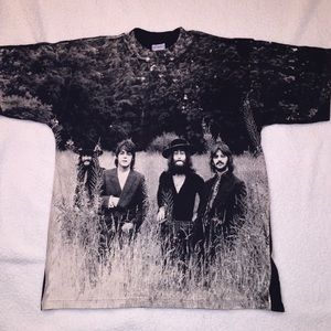 Other - Rare Vintage The Beatles All Over Print T-Shirt